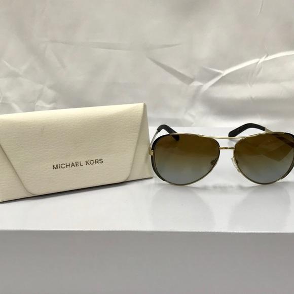 Michael Kors Chelsea Polarized Aviator Sunglasses.  M 5a8711f3739d48e6b4f6b046 5c87bc4819e